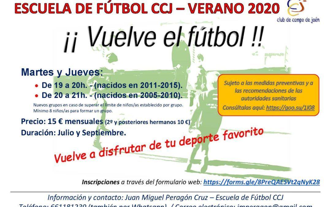 Escuela de Fútbol de verano 2020