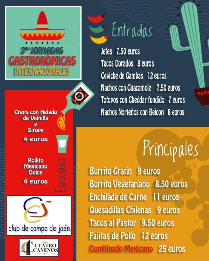 II Jornadas Mexicanas Club Jaén