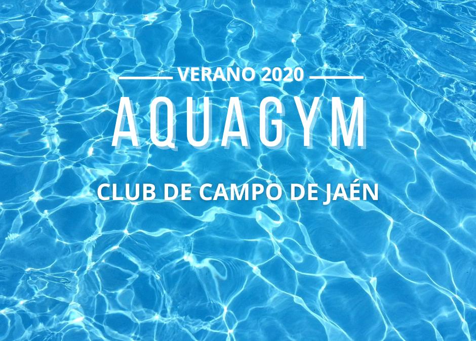 Clases de Aquagym en el Club de Campo