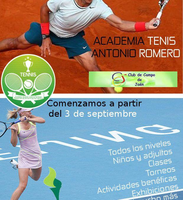 Tenis septiembre club campo jaén