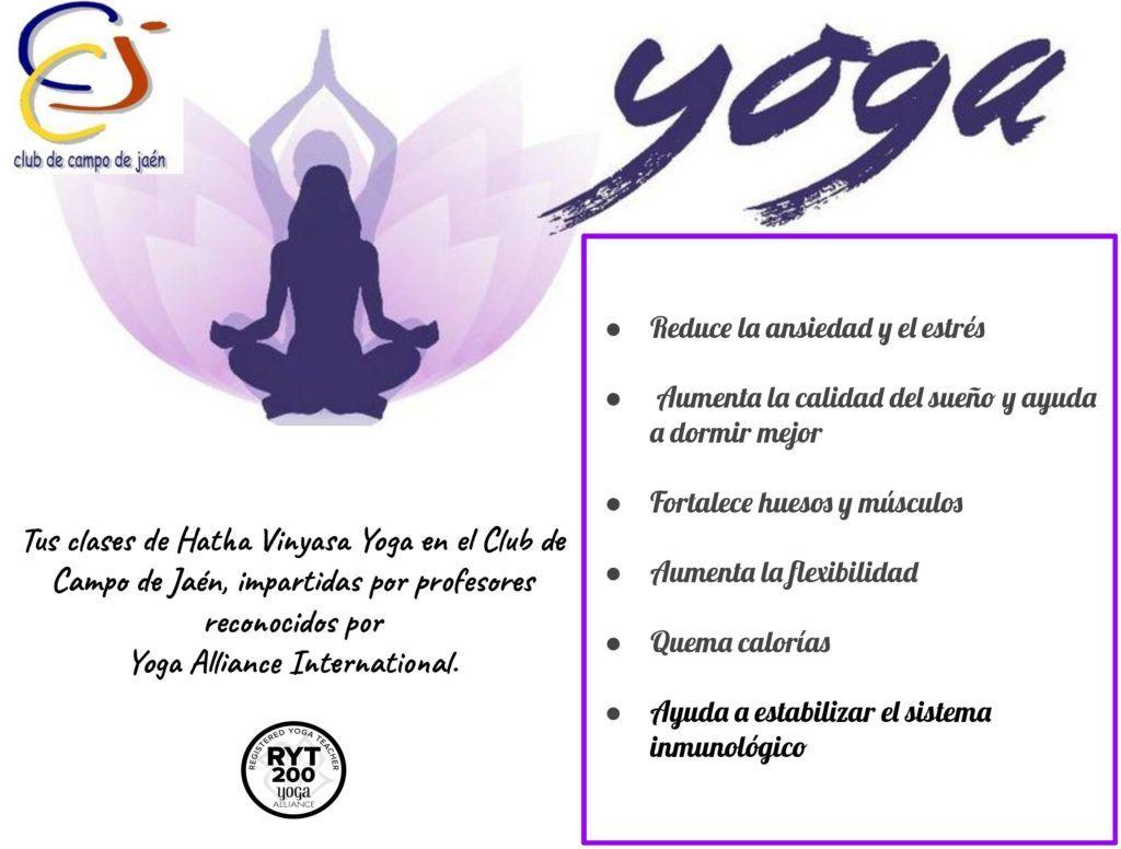 Clases de yoga en Jaén