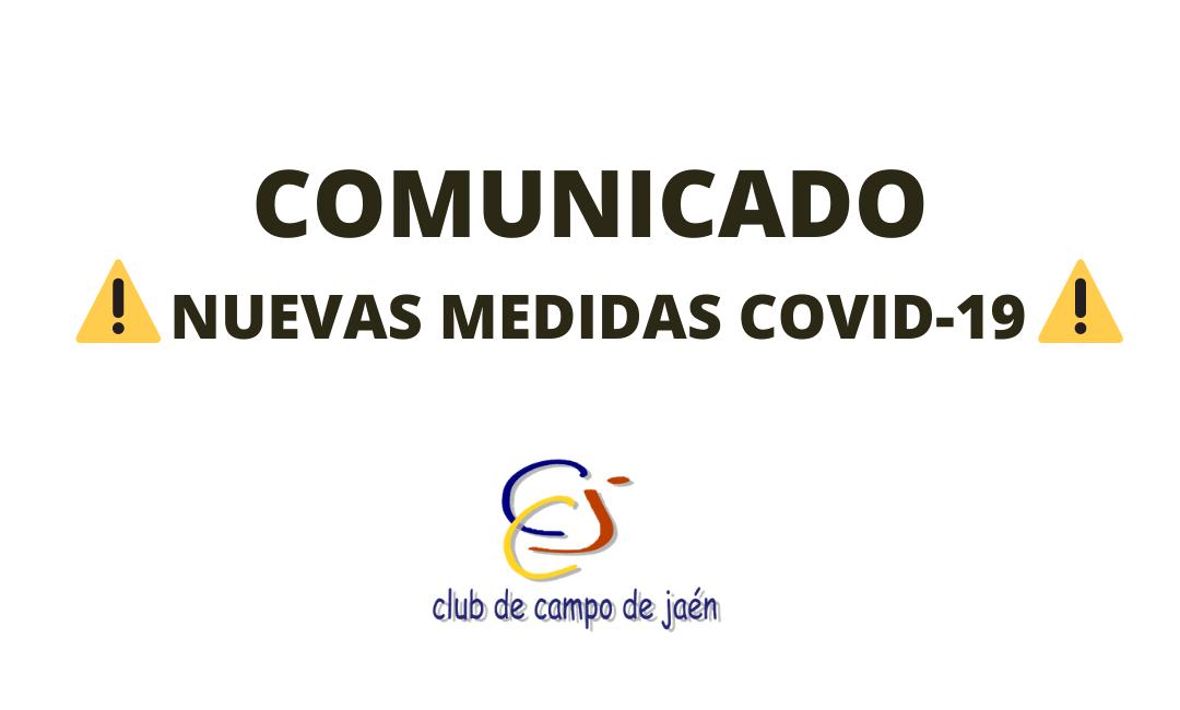 Nuevas medidas COVID