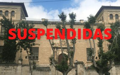 Cancelación de visitas culturales