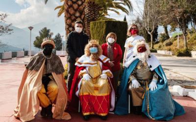 Visita de sus Majestades los Reyes Magos de Oriente