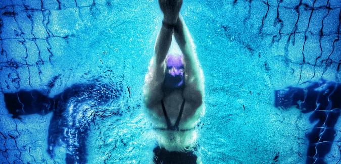 Campeonato de natación y cierre de piscina
