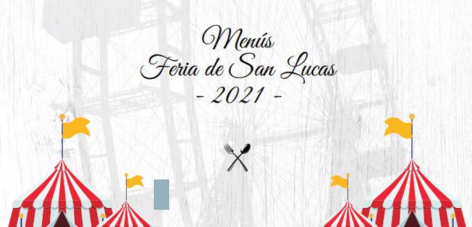 Menús Feria San Lucas 2021